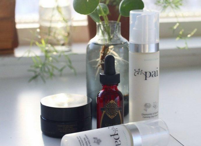 Behandling av känslig hud med naturkosmetik