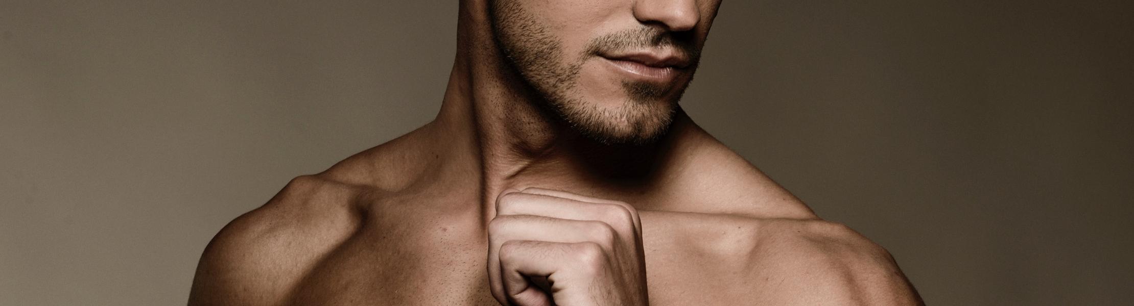 hudvård för män
